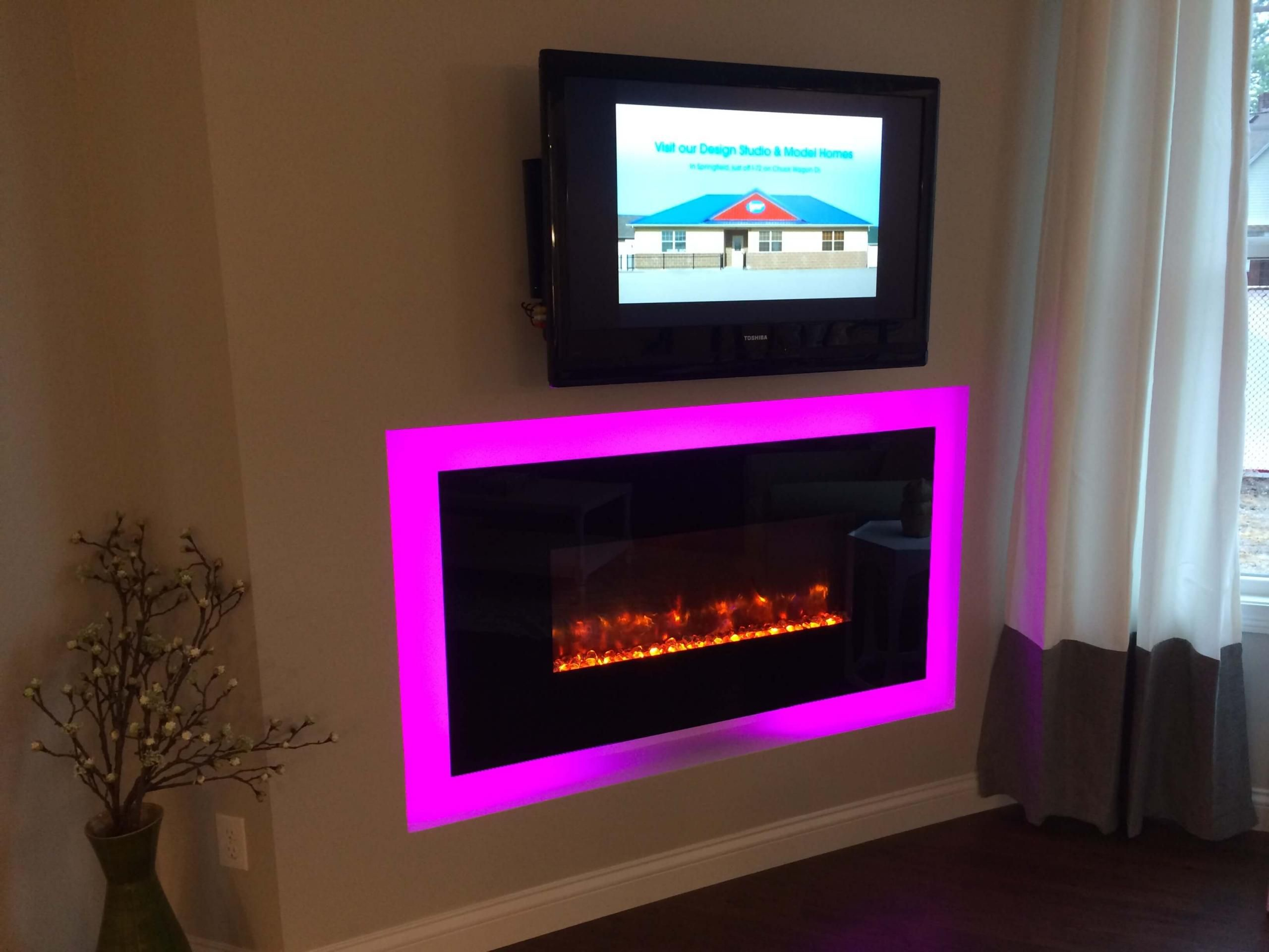 Ge Linear Electric Fireplace Fireplace Corner Perth