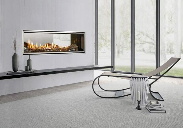 Heat & Glo Mezzo 1300 Double Sided - Gas 2