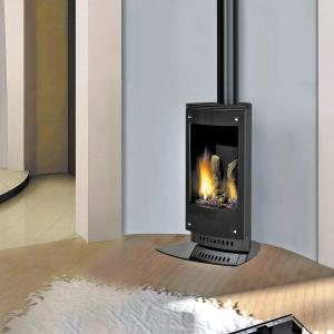 Freestanding Gas and Wood Fireplaces