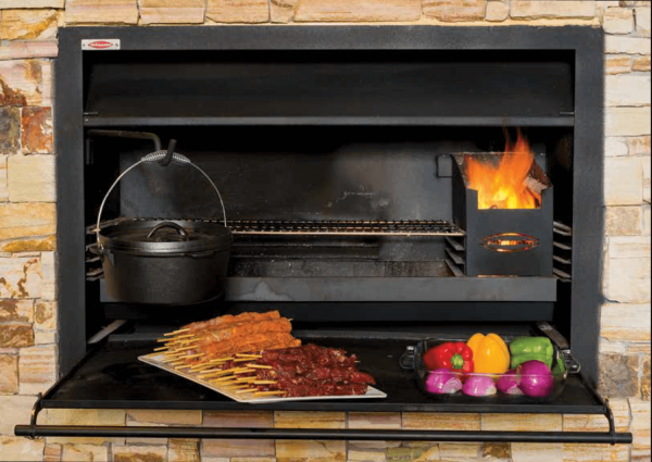 Jetmaster Wood Fired Barbeque 4