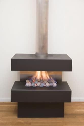 Horizon Freestanding Gas Fireplace Fireplace Corner Perth